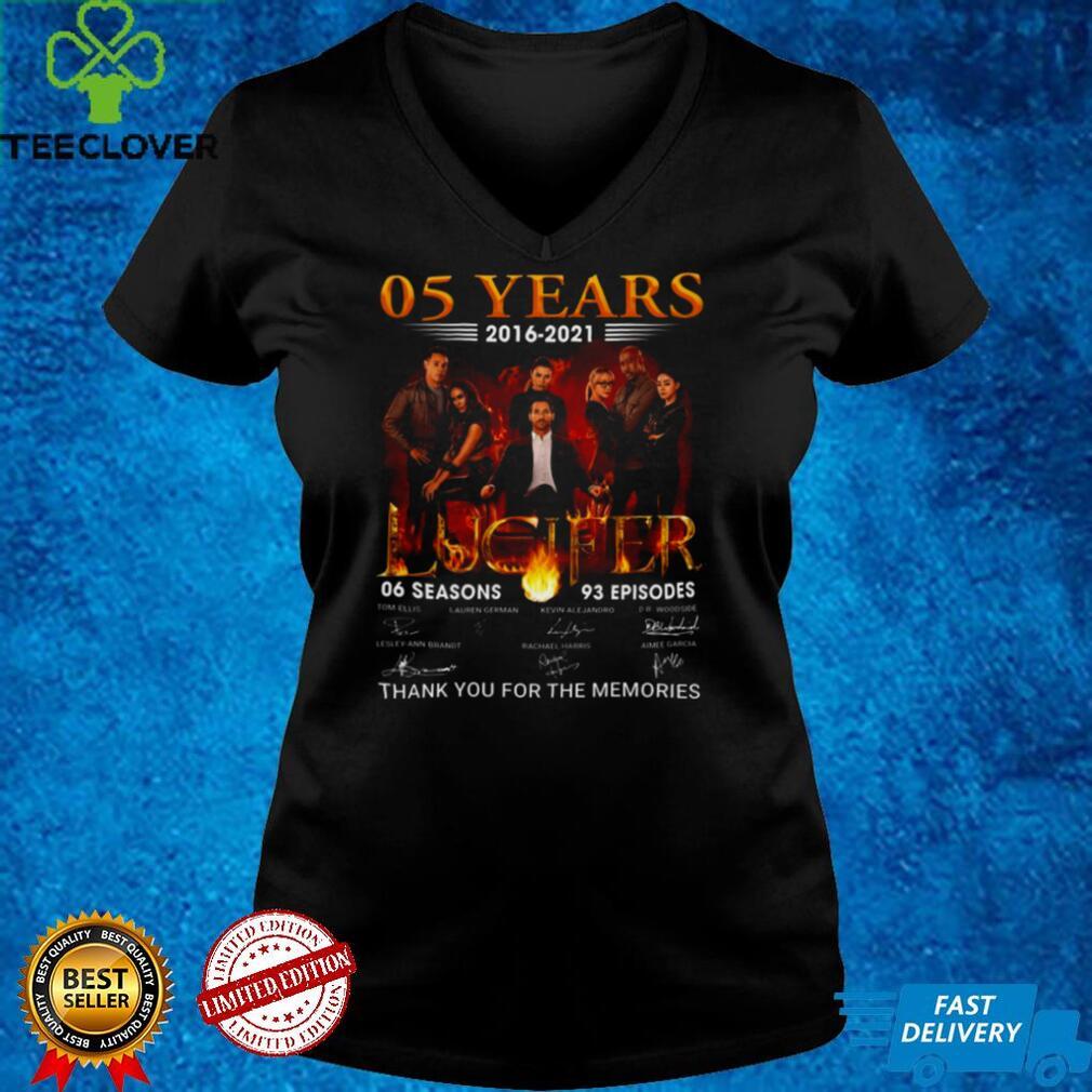 05 years 2016 2021 Lucifer 06 season 93 episodes signatures shirt