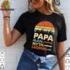 Papa Man Myth Legend Vintage Retro