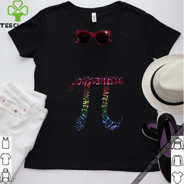 Pi Day 3.14 Math Geek Colorful T-Shirt
