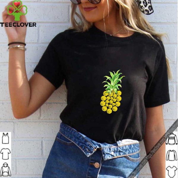 Pineapple Volleyball Funny T-shirt