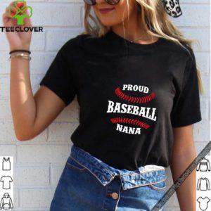 Proud Baseball Nana T Shirt Grandson Gift Idea For Grandma