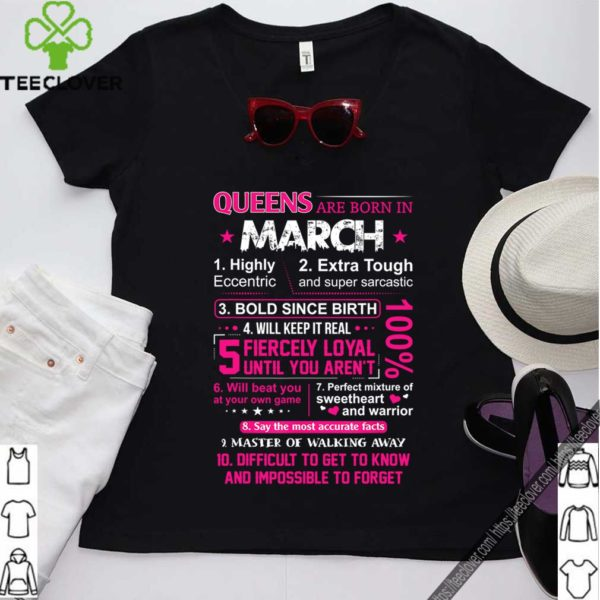 Queens Are Born In March 10 Reasons