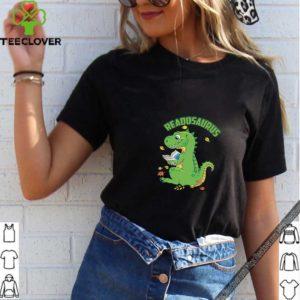 Reading Dinosaurus T-Rex Book Lover T-Shirt