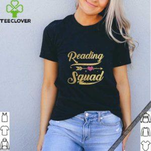 Reading Squad TShirt Teacher Appreciation Gift Gold Arrow