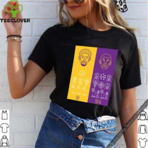 8 24 Kobe Bryant Title Collection Trophies Championship shirt