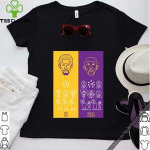 Trump 2024 – Keep America Great! 2020 Tee Shirt8 24 Kobe Bryant Title Collection Trophies Championship shirt