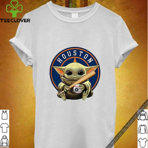 Baby Yoda Houston Astros Baseball Logo shirt