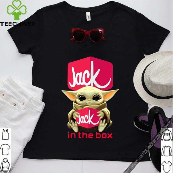 Baby Yoda Hug Jack In The Box Shirt