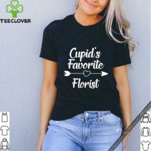 Cupid's Favorite Florist Valentines Day shirt