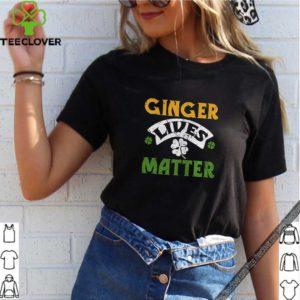 Ginger Lives Matter Saint Patricks Day shirt