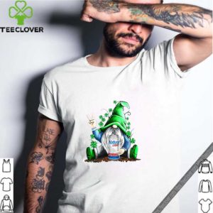 Gnomes Lucky Hug Natural Light St Patrick's Day shirt
