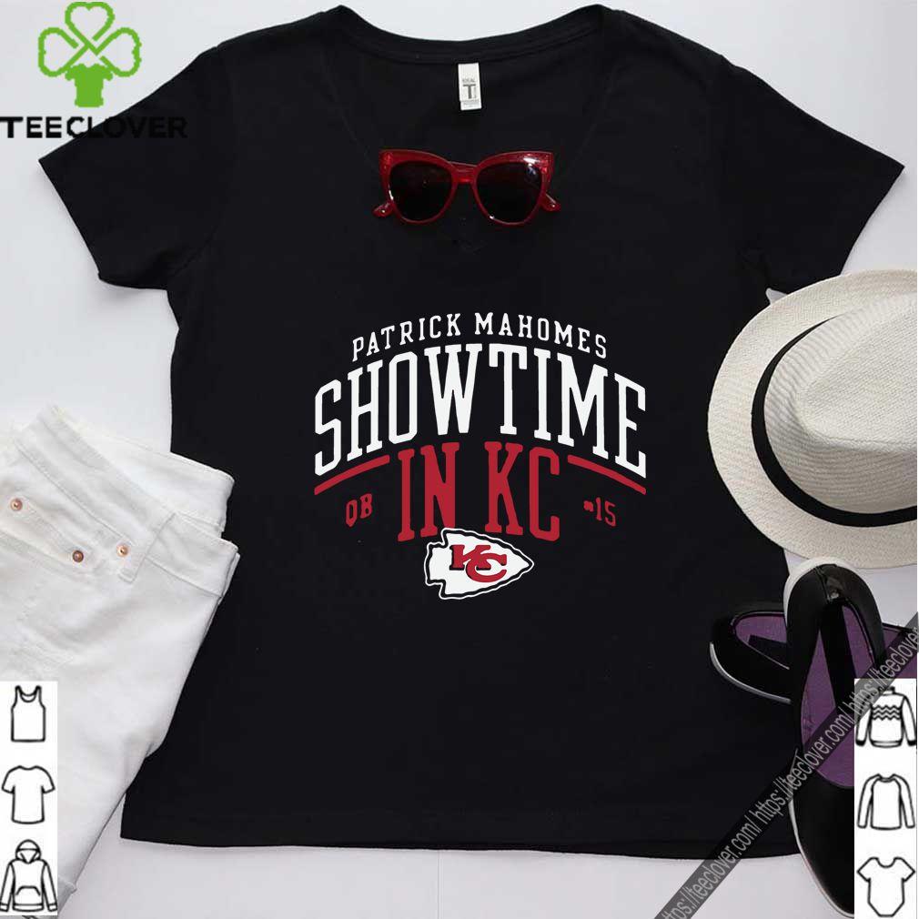 Kansas City Chiefs Patrick Mahomes Showtime in KC T Shirt