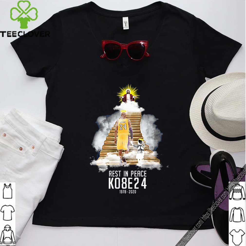 Kobe Bryant And His Daughter Heaven With Jesus RIP KO8E24 GIGI shirt