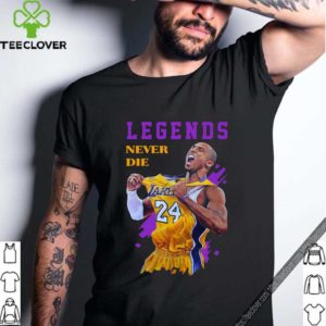 Kobe Bryant Basketball Legends Never Die Shirts