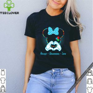 Minnie mouse accept understand love Autism Awareness Puzzle shirt