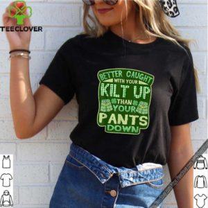 Official Kilt For Men Boys Double Meaning St Patricks Day shirt