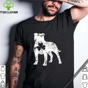 Original Pit Bull St Patricks Day Boys Men Dog Lover Shamrock Gift shirt