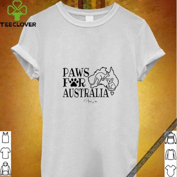 Paws for Australia Kangaroo and Koala shirt