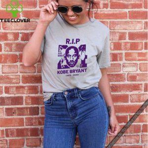 R.I.P 24 KOBE BRYANT 1978 2020 Black Mamba Out shirt