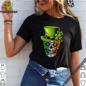 Skull Leprechaun Funny Shamrock Pirate St Patricks Day shirt