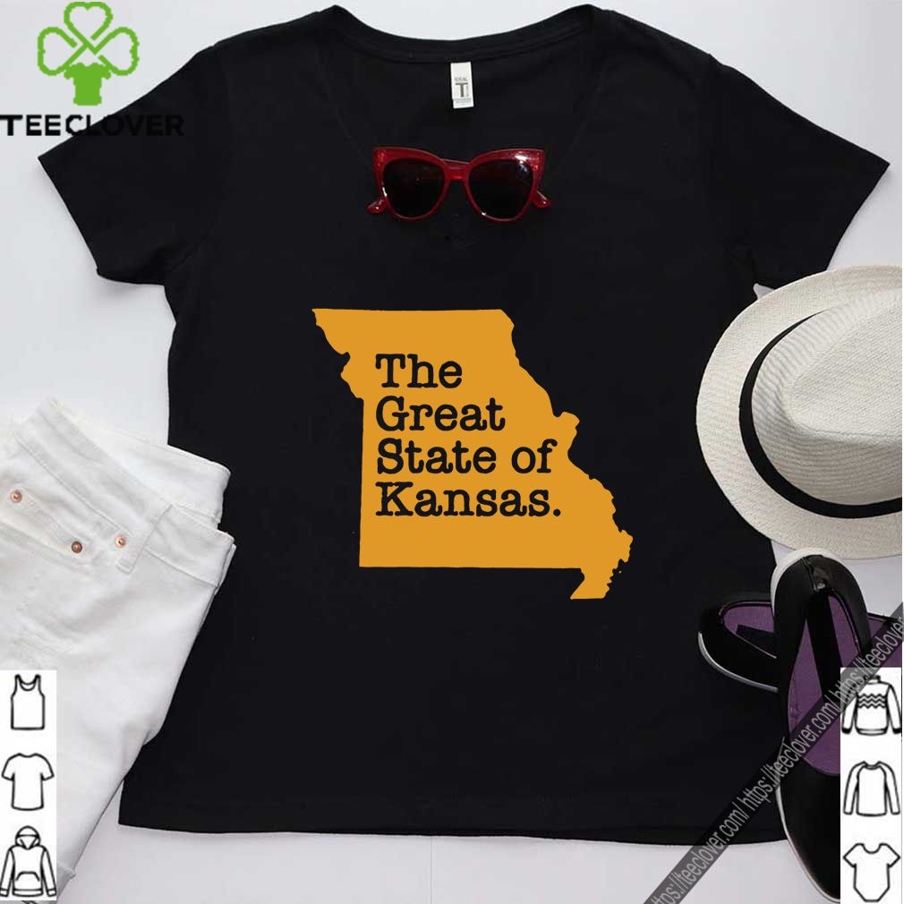The Great State Of Kansas T-Shirt