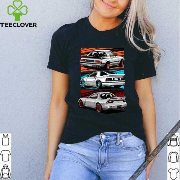 The Mazda RX-7 Generations shirt
