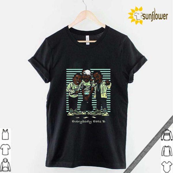 Yeezreel Yeezy 350 Everybody Eats B shirt