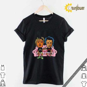 Yeezreel Yeezy 350 X and Juice shirt
