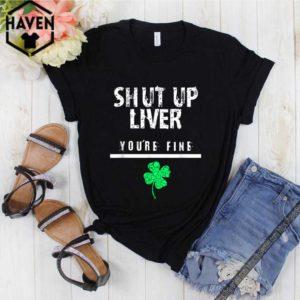 Baby Yoda Houston Astros Baseball Logo shirtAwesome Shut Up Liver Funny St. Patrick's Day, Men, Women, shirt