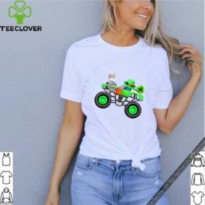 Baby Yoda Houston Astros Baseball Logo shirtNice Kids St Patricks Day Monster Truck