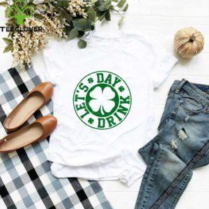 Pretty Let's Day Drink – Vintage Shamrock St Patricks Day