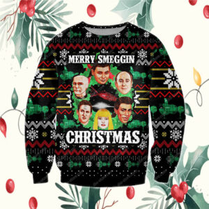 Dave Lister 3D Print Knitting Pattern Ugly Christmas Sweatshirt