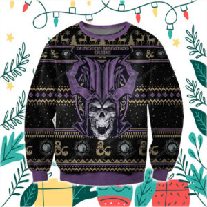 Dungeon Master's Guide 3D Print Ugly Christmas Sweater