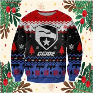 G.i.joe Cobra 3D Print Knitting Pattern Ugly Christmas Sweater