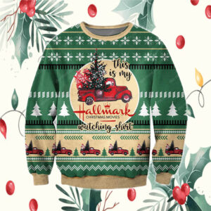 The Grinch hand holding mask 2020 stink stank stunk ugly ChristmasHallmark Christmas Movies 3D All Over Print Ugly Sweatshirt