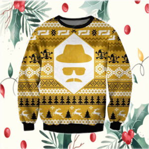 Heisenberg Breaking Bad 3D Print Ugly Christmas Sweatshirt
