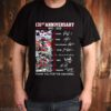 Ohio State Buckeyes Football 131st Anniversary 1890 2021 Thank You For The Memories Signatures shirt