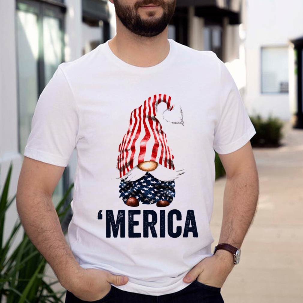 4Th Of July American Gnome merica Shirt