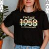 All Original Parts Vintage 1958 63rd Birthday Retro Idea T Shirt