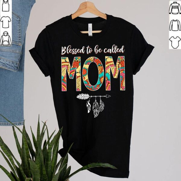Best Blessed Hippie Mom Birthday Shirt Hippy Mama Grandma Mothers Day T Shirt 2