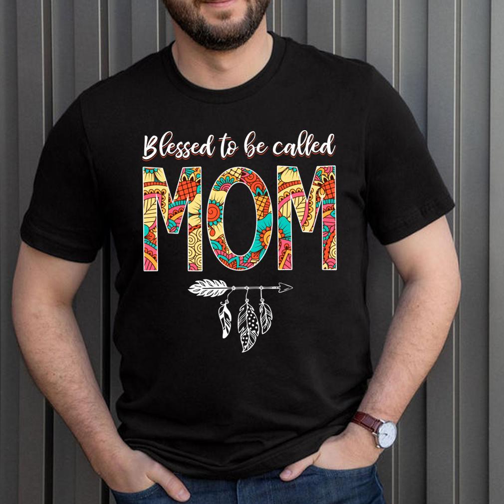 Best Blessed Hippie Mom Birthday Shirt Hippy Mama Grandma Mothers Day T Shirt 3