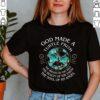 Best Hippie Turtle Lovers Motivation Shirt Sea Turtles Floral Ocean T Shirt