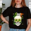 Cool Irish Bandana Skull Lady St Patricks Day Shirt Shamrock Hippie Girl Season T Shirt
