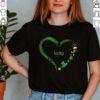 Cute Lucky St Patricks Day Heart Shirt Irish Shamrock Pot Of Gold Holiday T-Shirt 1