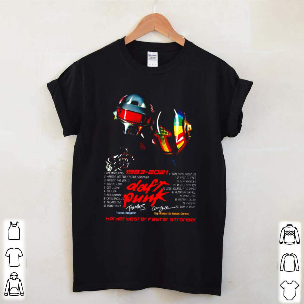 Dont punk 1993 2021 harder better faster stronger shirt 3