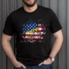I Stand For This Flag American Flag Patriotic USA T Shirt 2