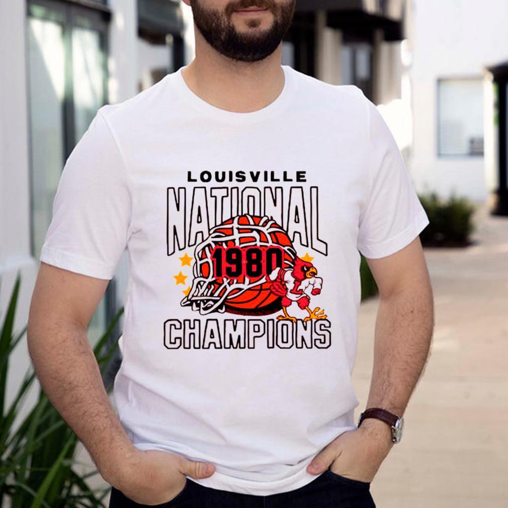 Louisville National 1980 Champions Basketball shirt