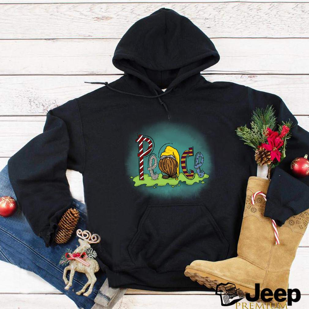 Peace gnome T Shirt 2