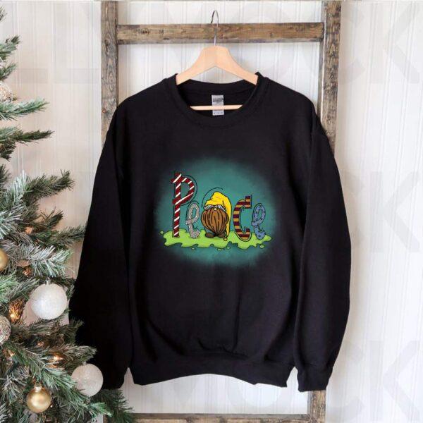 Peace gnome T Shirt 3