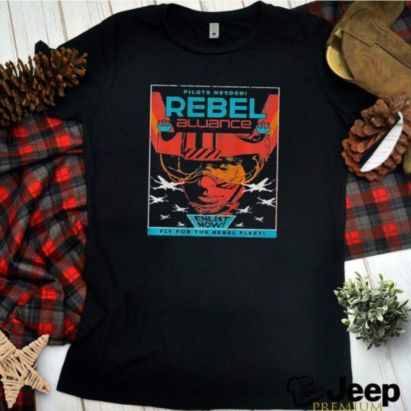 Star Wars Rebel Alliance Pilots Needed Retro shirt